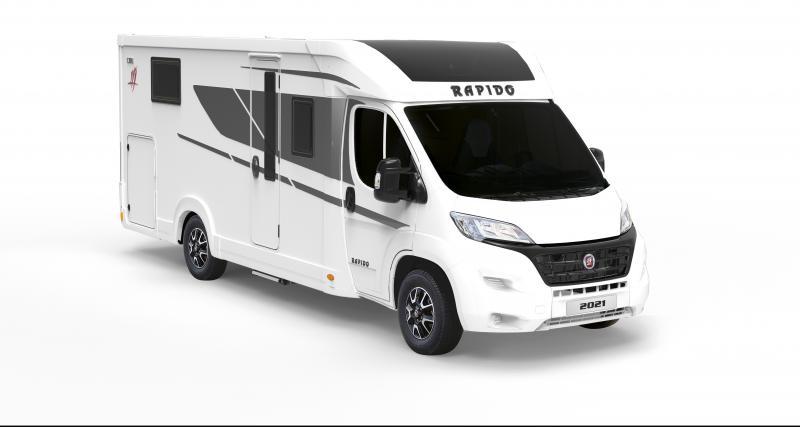 Nouveau Camping-car Rapido C86 : le profilé compact qui a tout d'un grand