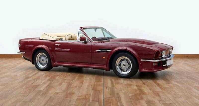 Aston Martin V8 Volante : l'exemplaire ex-David Beckham est en vente