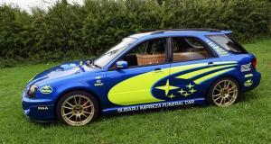 Pompes funèbres : la Subaru Impreza WRX STI transformée en corbillard