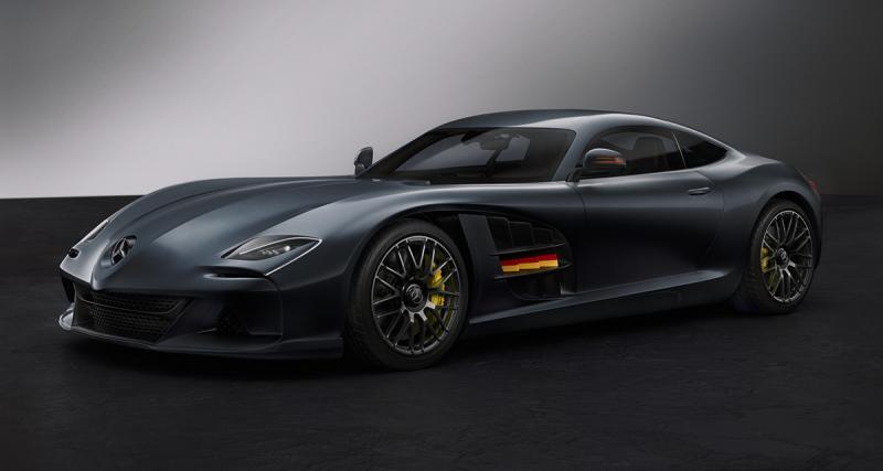 Mercedes-Benz SLR-AMG Vision Concept : la SLR McLaren des années 2020