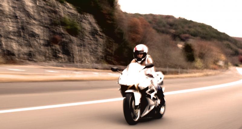 Flashé à 194 km/h au guidon d'une moto sur une départementale : grosse amende en vue !