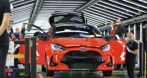 Toyota Yaris 4 : début de la production à Valenciennes de la citadine hybride !