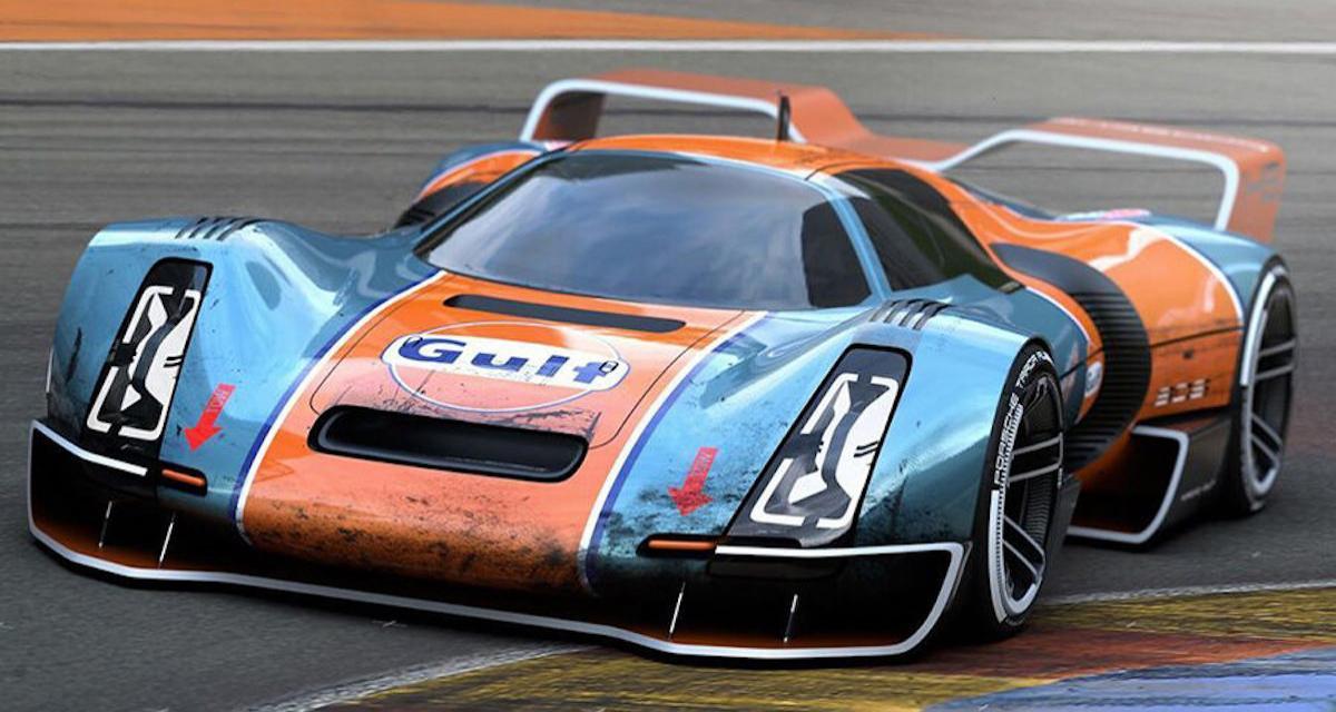Porsche 906 Hommage : un concept qui aurait sa place aux 24h du Mans