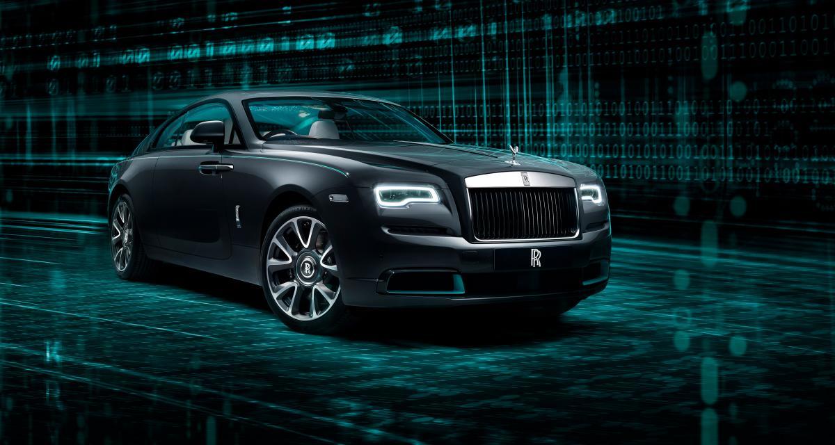 Rolls-Royce Wraith Kryptos : une série limitée mystérieuse et interactive