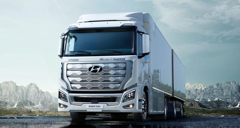 Hyundai XCIENT Fuel Cell : les premiers camions à hydrogène vont prendre la route