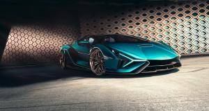 Lamborghini Sián Roadster : l'hypercar hybride cheveux au vent