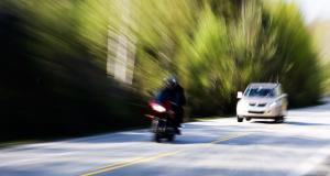 Un motard belge trace à 133 km/h, son bolide termine en fourrière