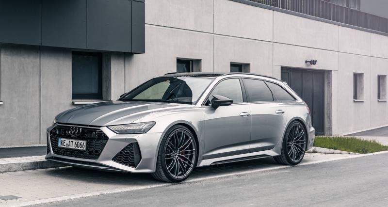 Audi RS6 par ABT Sportsline : toujours plus de puissance pour le break sportif