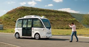 Véhicule autonome : test grandeur nature pour Navya au Centre national de Tir Sportif