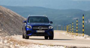 Mercedes EQB (2021) : essai silencieux sur le Nürburgring