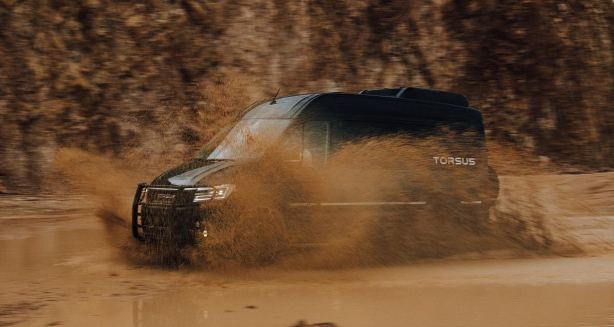 Torsus Terrastorm : le minibus tout-terrain de l'extrême