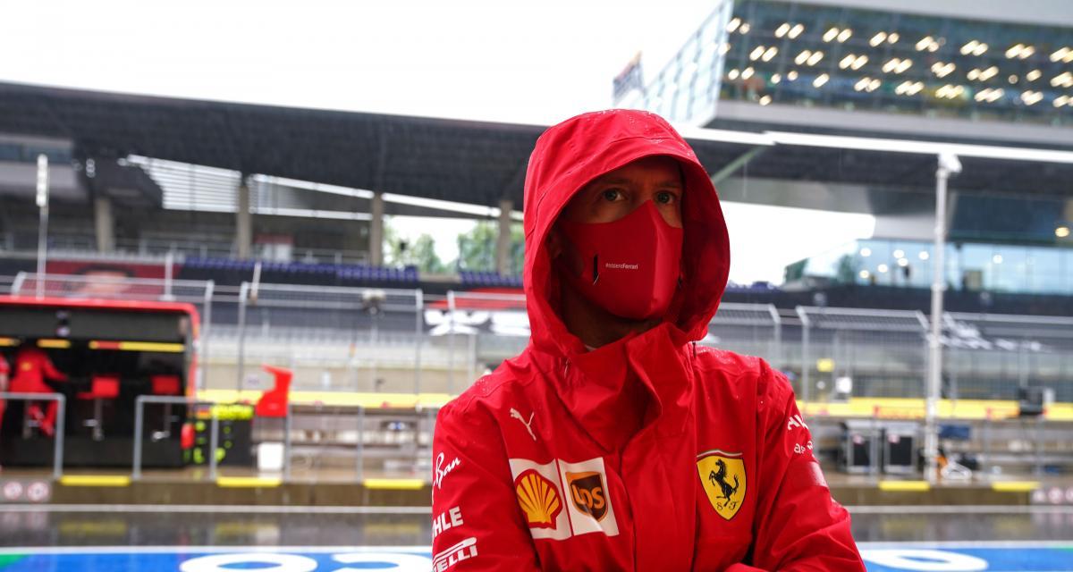 Grand Prix de Styrie de F1 : la réaction de Vettel après son accrochage avec Leclerc