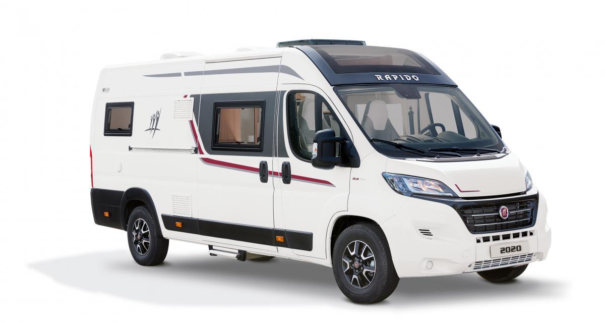 Camping-car : nouveau Rapido V62, le fourgon profilé qui va bien