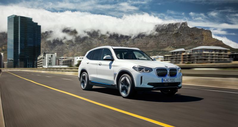 BMW iX3 : le X3 électrique est arrivé