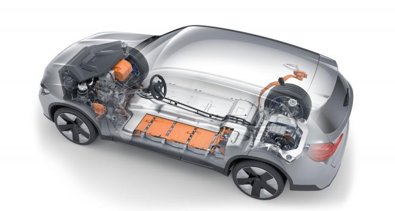 La nouvelle BMW iX3, 100% électrique, s'est dévoilée en images