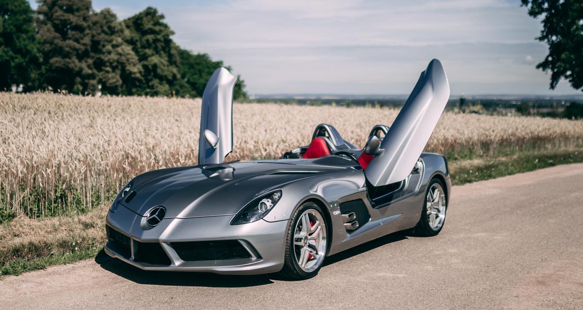 Mercedes-Benz SLR Stirling Moss : 2,5 millions d'euros pour en prendre plein la tête !