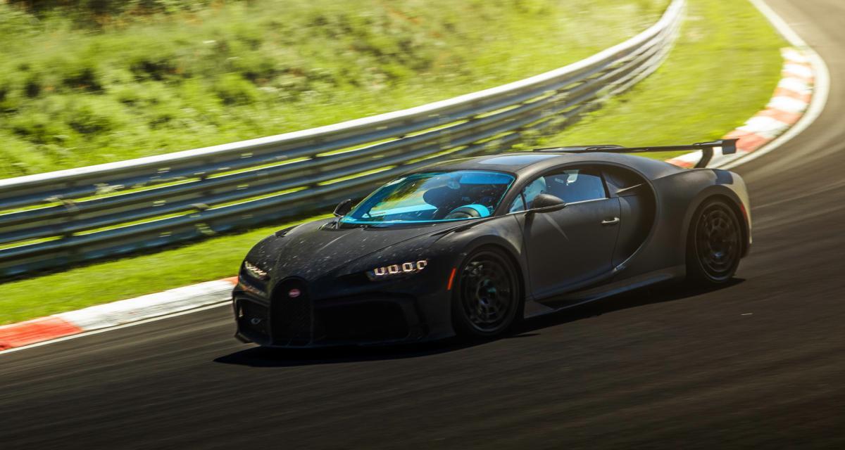 Bugatti Chiron Pur Sport : prête pour en découdre