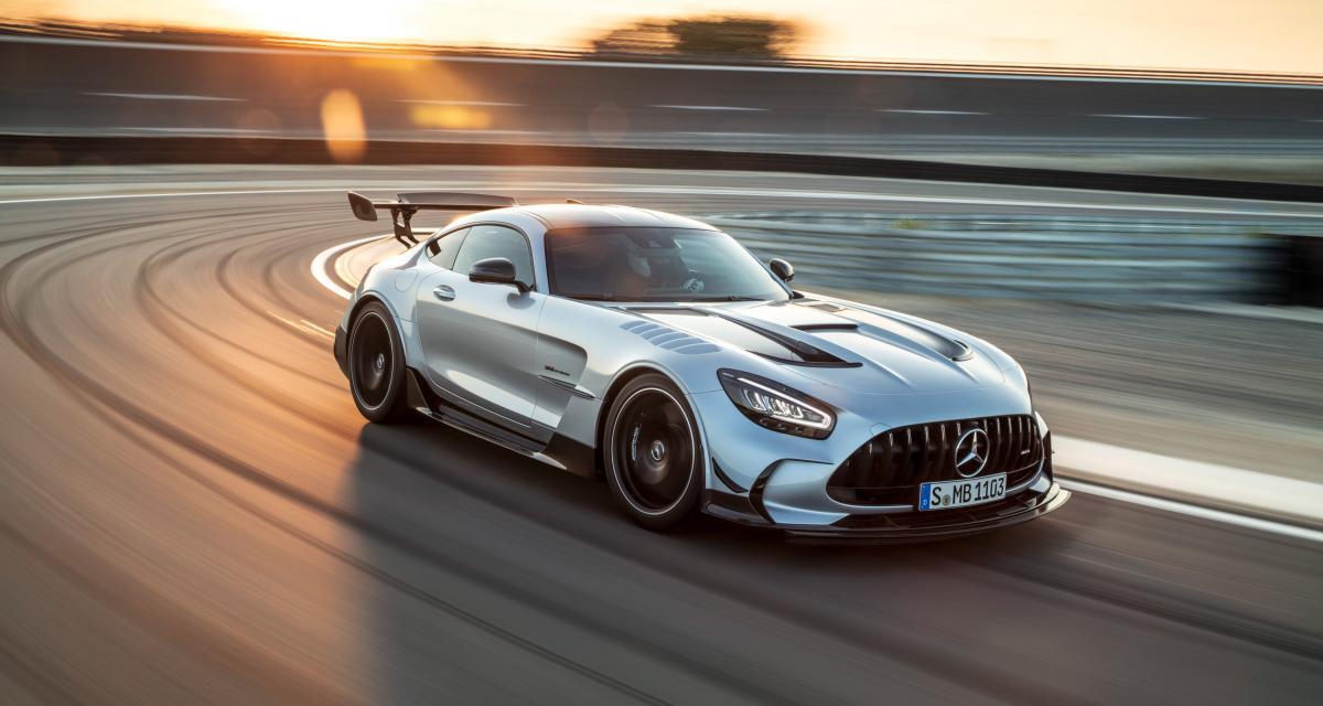 Mercedes-AMG GT Black Series : la plus méchante des AMG homologuée pour la route