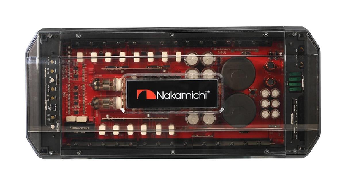 Les amplis à tubes Nakamichi arrivent sur le marché du car audio
