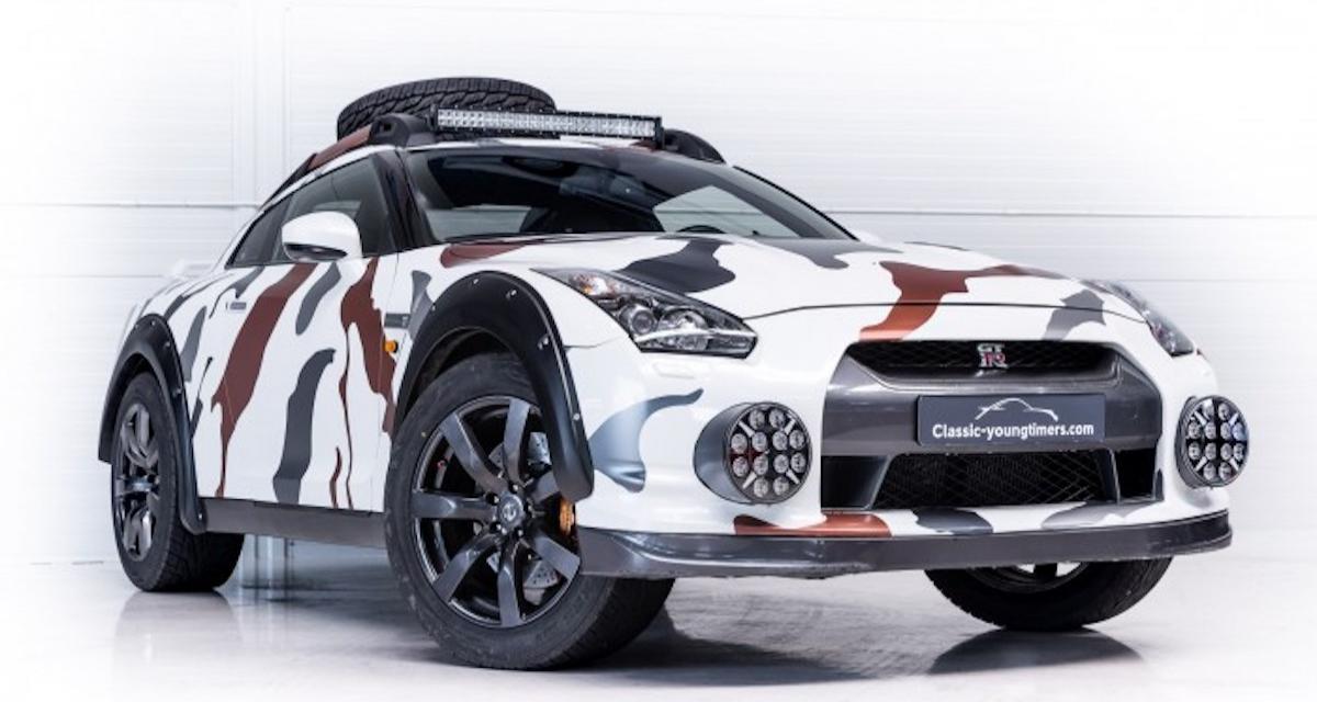 Godzilla 2.0 On Wheels : une Nissan GT-R tout-terrain unique est à vendre !