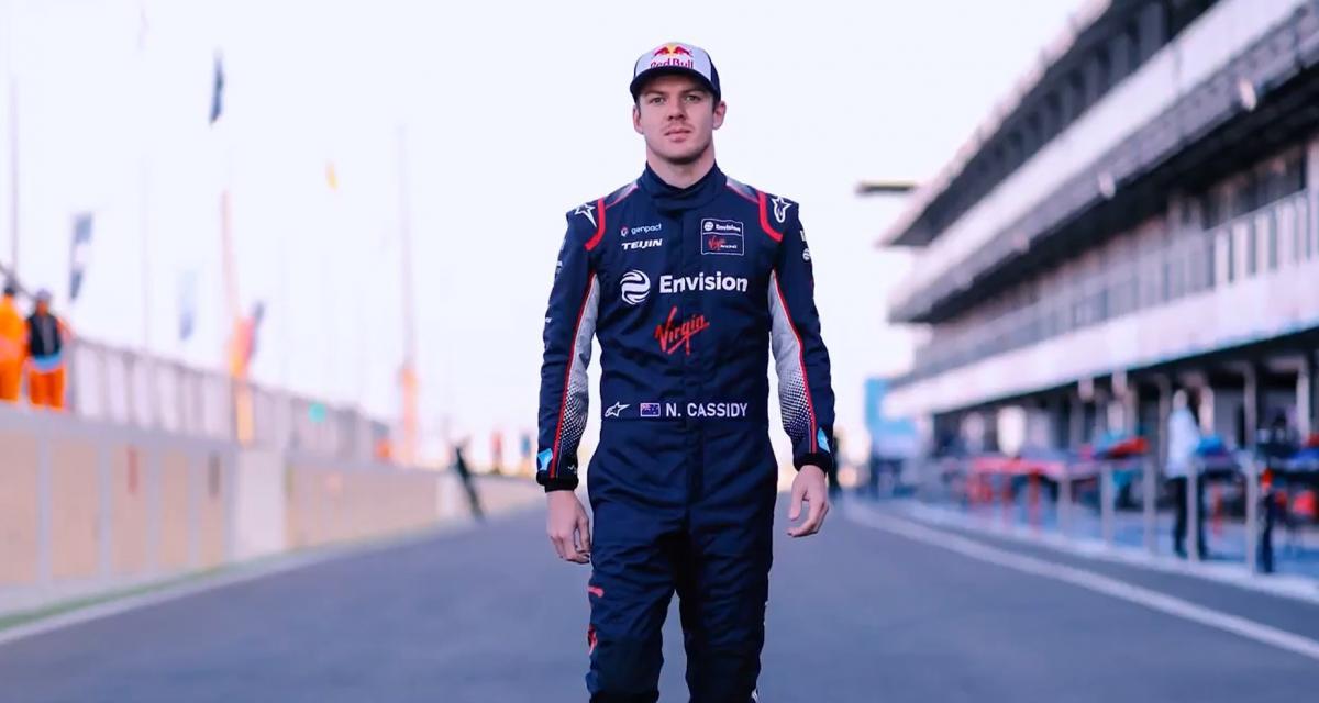 Formule E - transfert : Nick Cassidy remplace Sam Bird chez Envision Virgin Racing