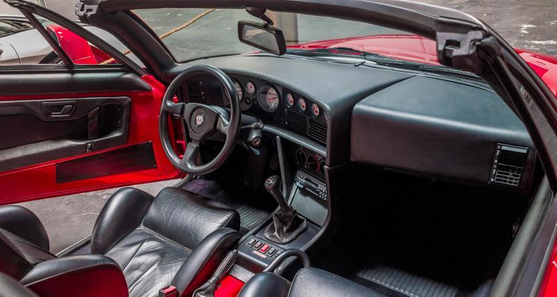 Un V6 italien qui manque de watts