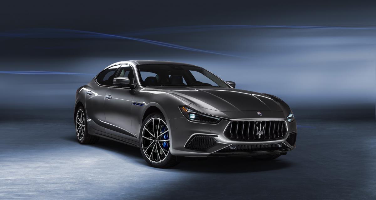 Maserati Ghibli hybride : la berline italienne se convertit doucement à l'électricité