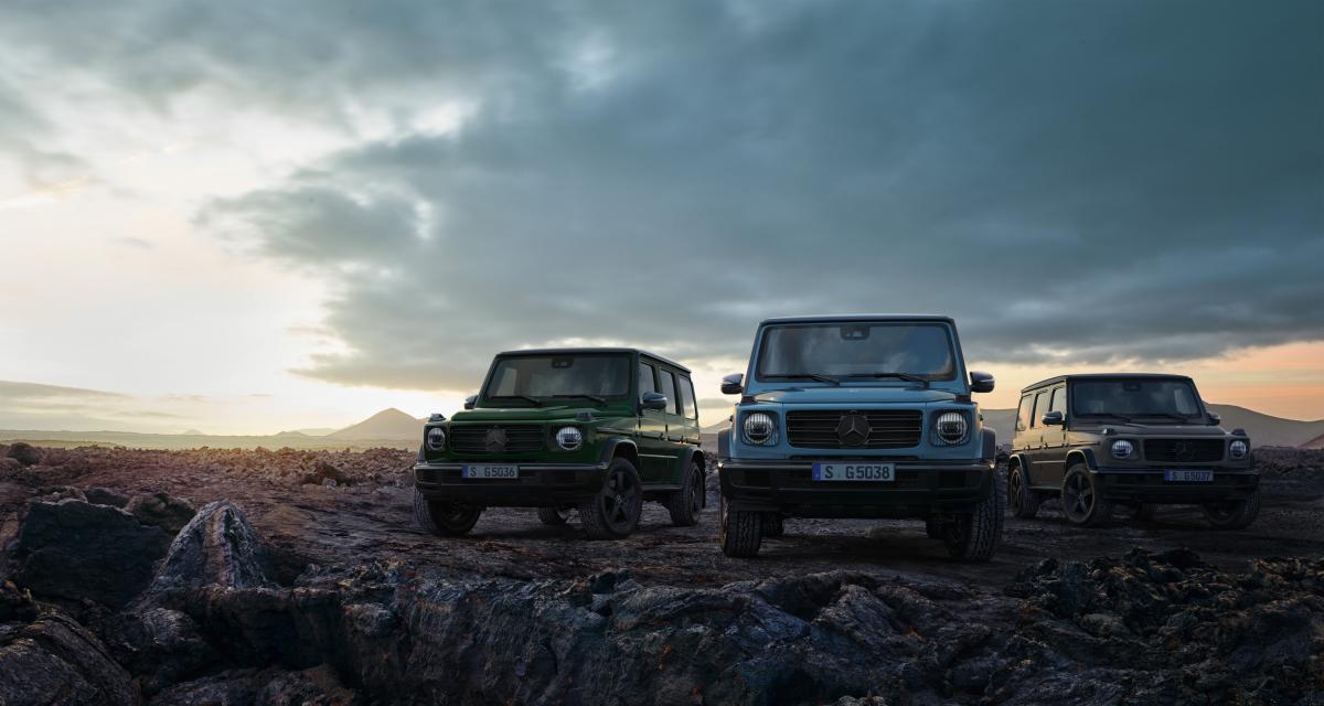 Mercedes Classe G (2020) : petites mises à jour pour l'ancêtre iconique