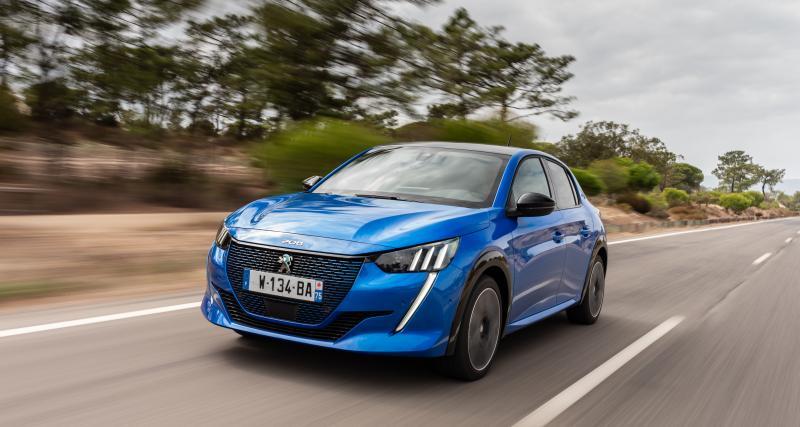 Nouvelle Peugeot 208 : gros succès pour la version électrique