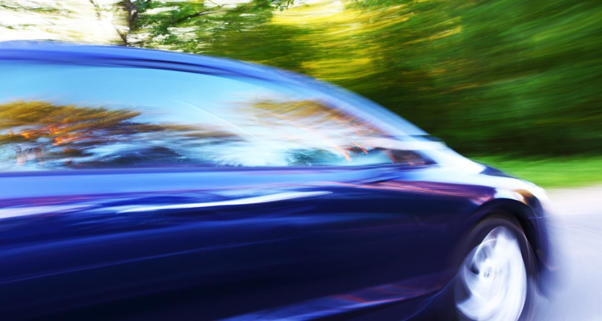 Elle roule à 149 km/h sur une départementale : adieu le permis