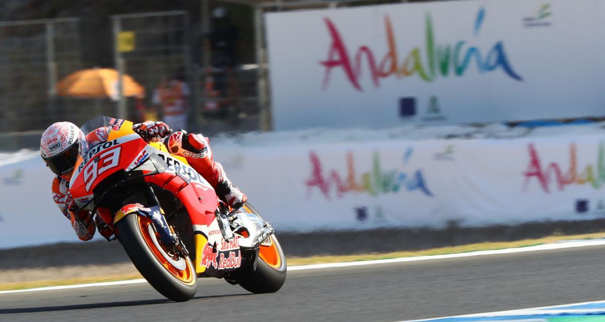 MotoGP - Grand Prix d'Espagne : la lourde chute de Marc Marquez en vidéo