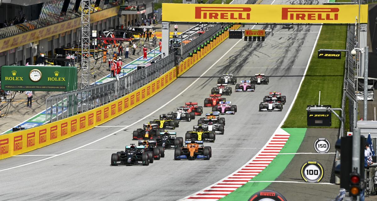 Grand Prix de Hongrie de F1 : le départ en vidéo