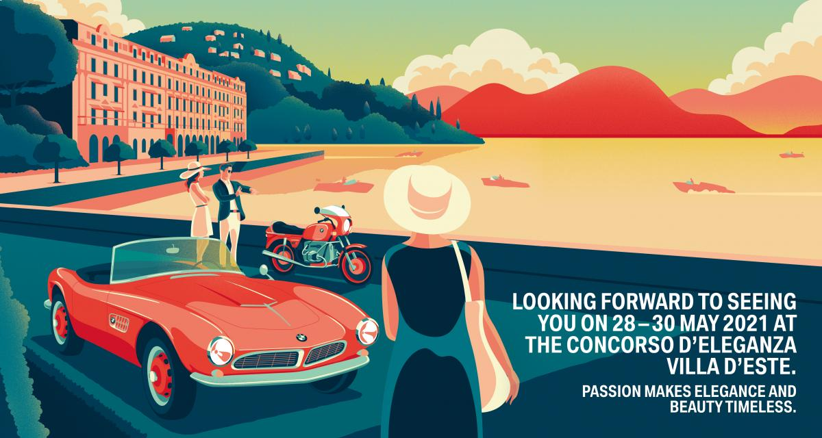 Concours d'élégance de la Villa d'Este 2020 : report de l'évènement en 2021