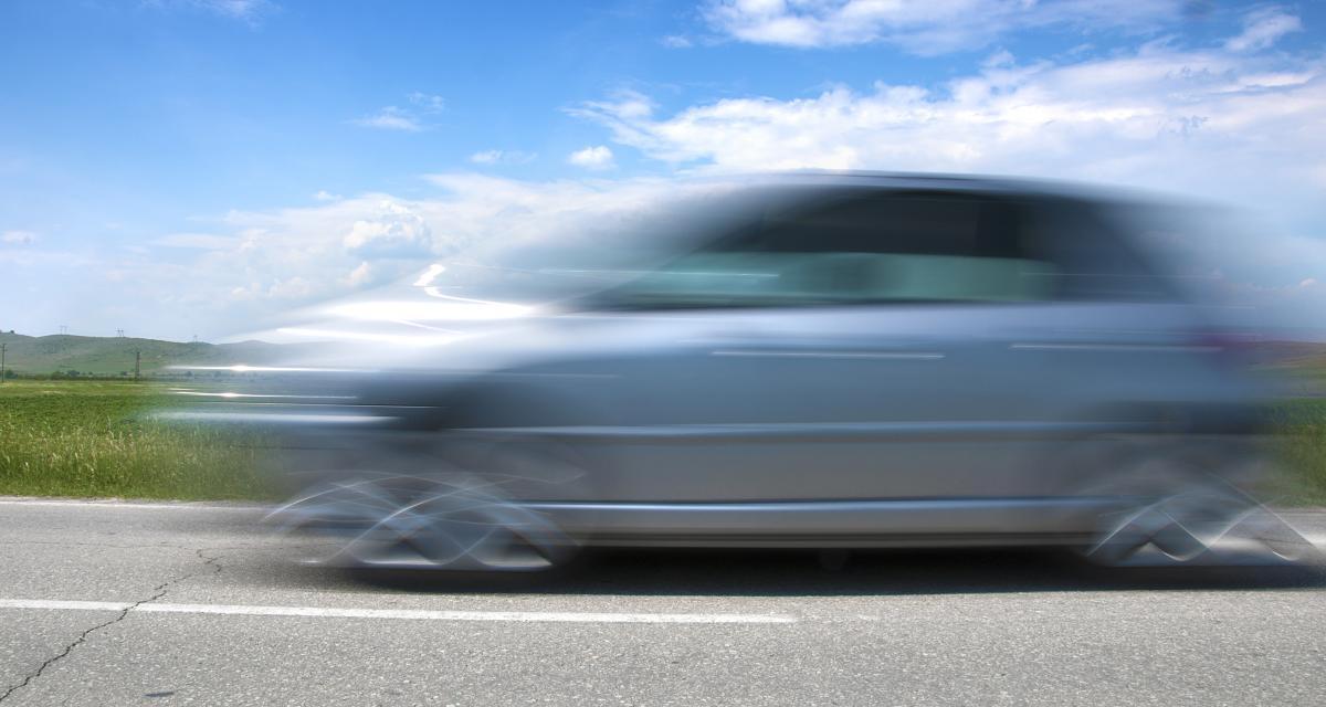 Au volant d'une Opel Corsa, un jeune automobiliste en permis probatoire file à 161 km/h