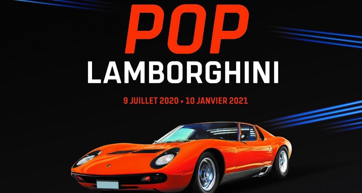Lamborghini s'invite à la Cité de l'Automobile à Mulhouse pour une exposition pop