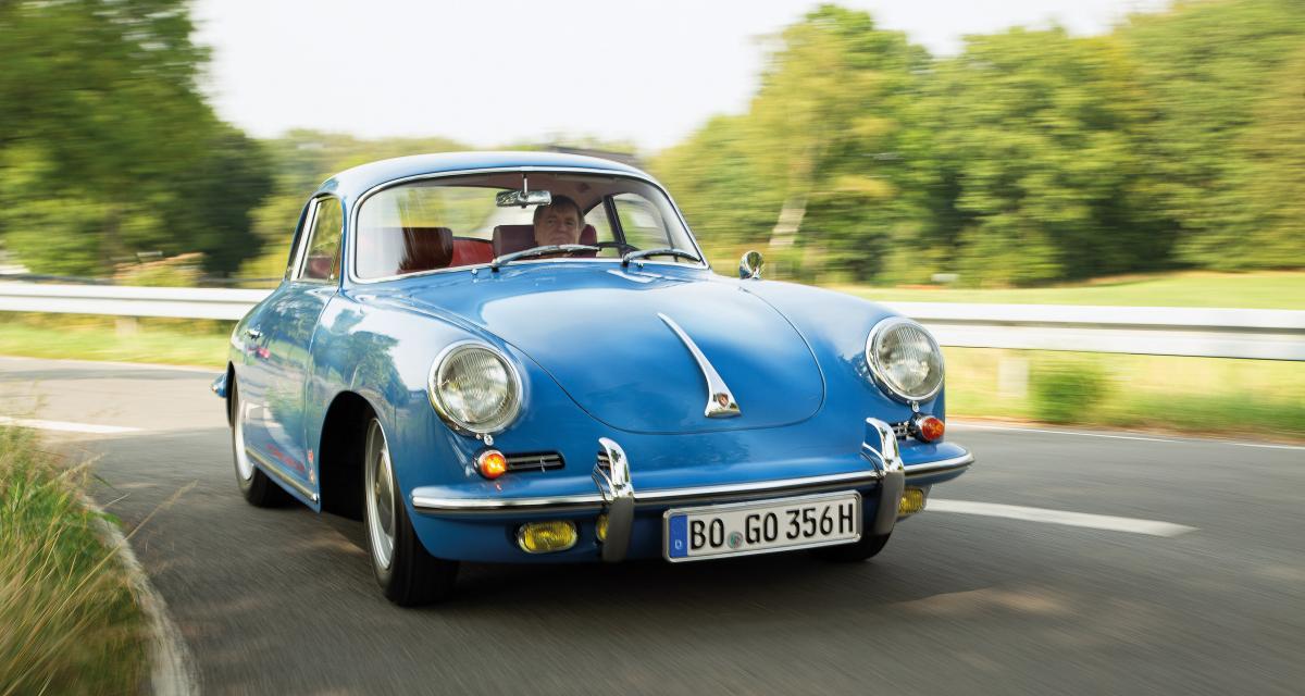 Porsche 356 C 1600 : l'histoire d'une sortie de grange qui renaît de ses cendres