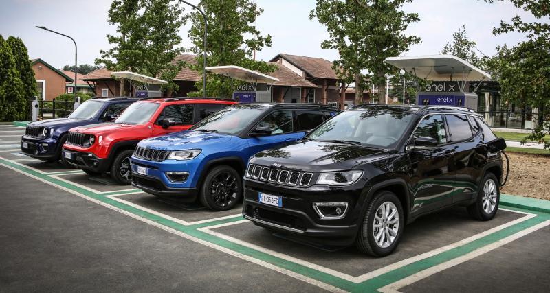 Jeep Renegade 4Xe et Compass 4Xe : toutes les infos sur les SUV verts