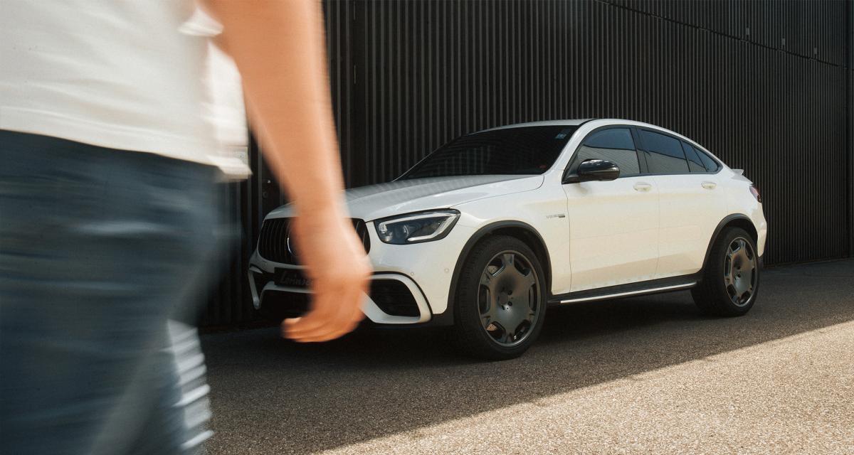 Mercedes GLC Coupé by Lorinser : près de 600 ch pour le SUV germanique