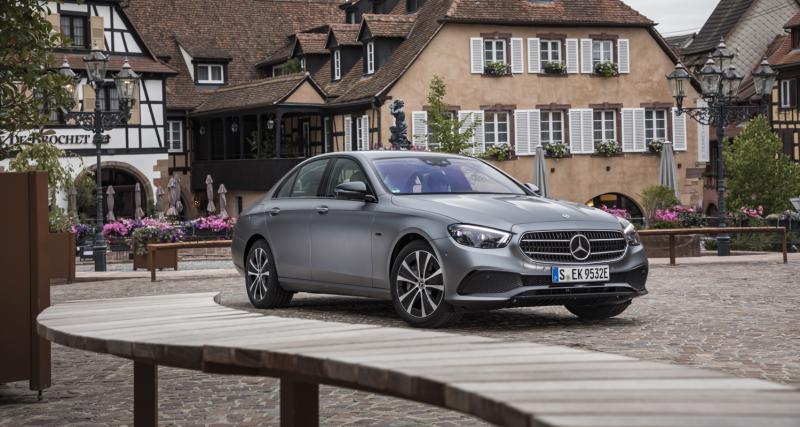 Mercedes Classe E (2020) : nouveaux tarifs et finitions de la berline restylée