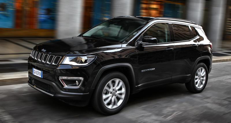 Prix du Jeep Compass 4xe (2020) : le SUV hybride rechargeable à partir de 43 000€