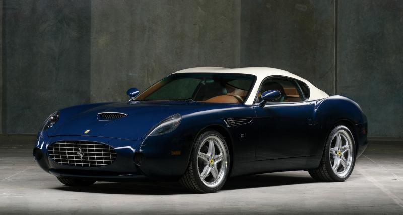 Ferrari 575 GTZ Zagato : splendeur et décadence à l'italienne
