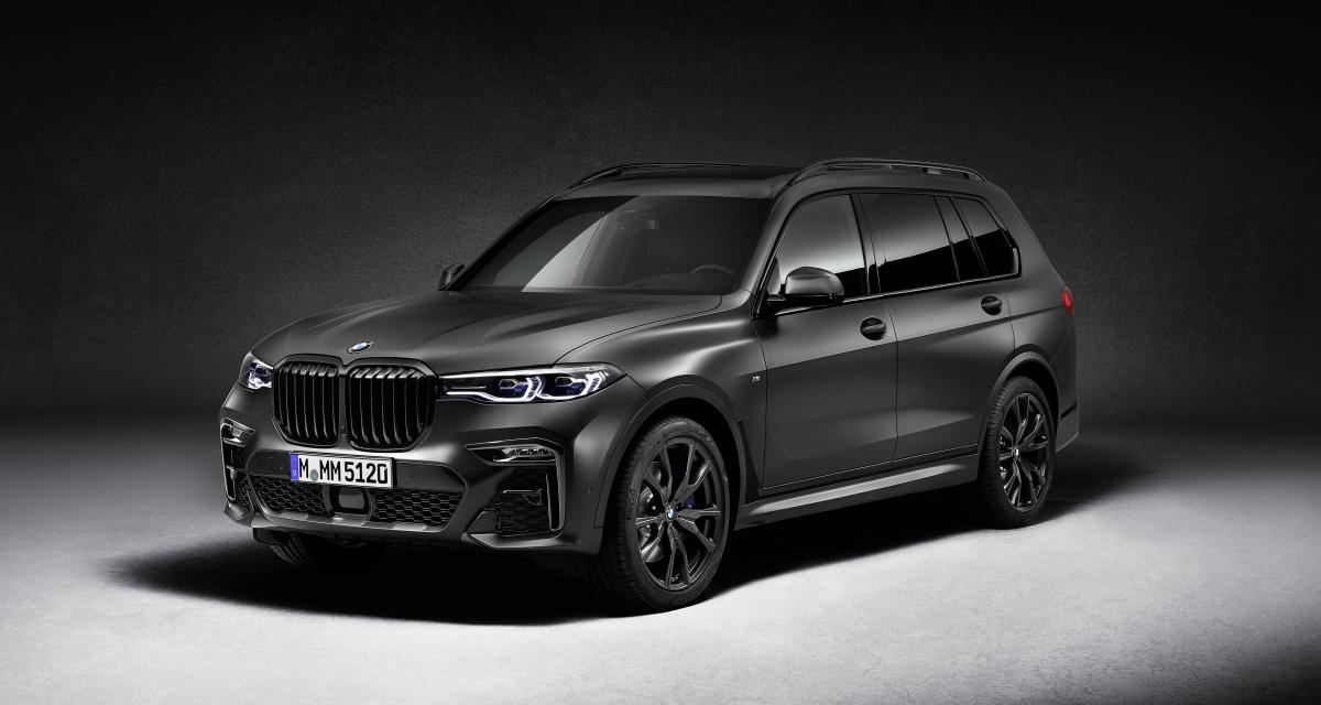 BMW X7 Dark Shadow Edition : la face sombre du grand SUV germanique