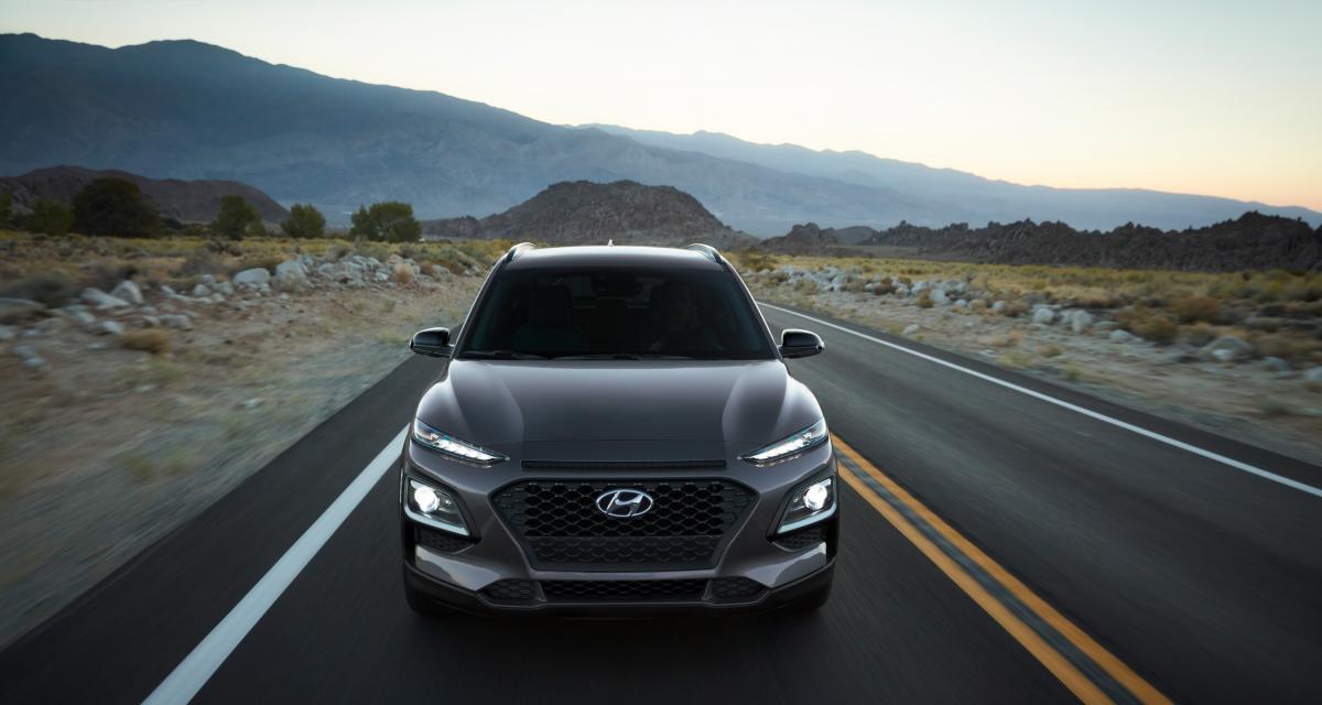 Hyundai Kona Night Edition : une série limitée à dominante noire