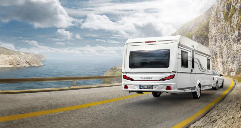 Tabbert Da Vinci : la caravane élégante, confortable et pratique