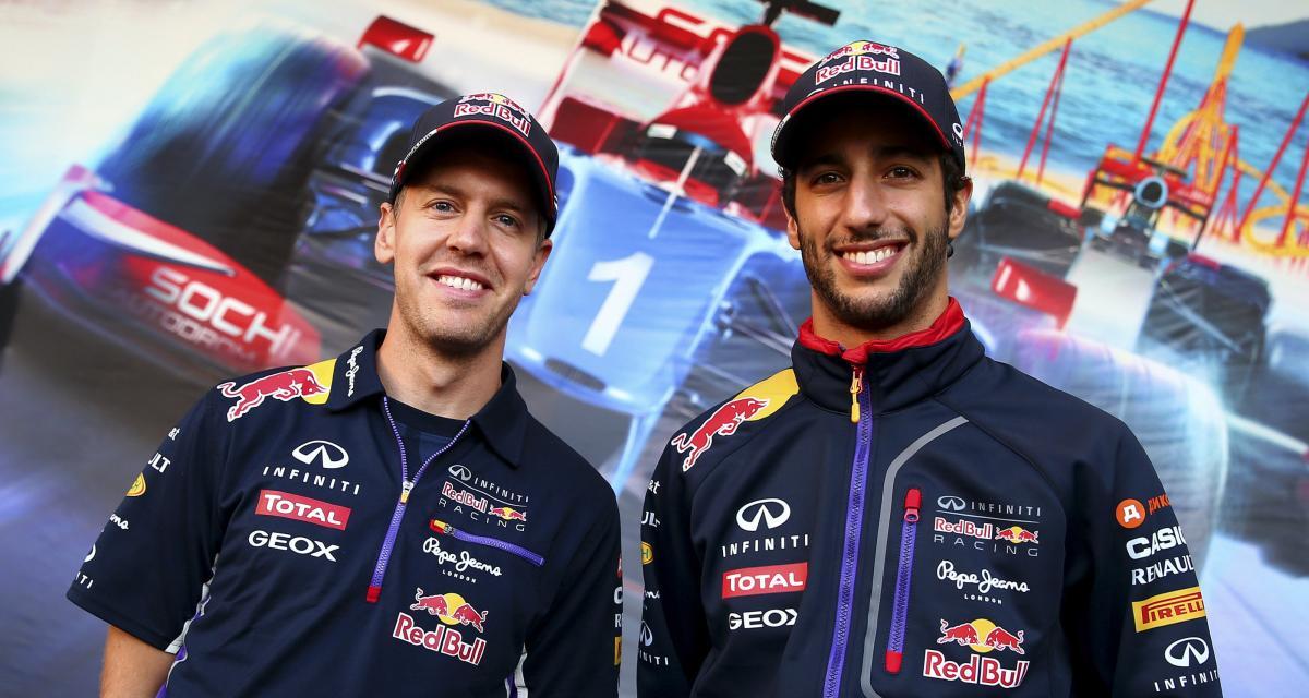 """F1 - Vettel dans une écurie de milieu de grille ? """"C'est un territoire inconnu pour lui"""" selon Ricciardo"""