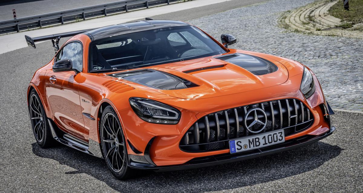 Mercedes-AMG GT Black Series : c'est elle, ou un petit pavillon en bord de mer !
