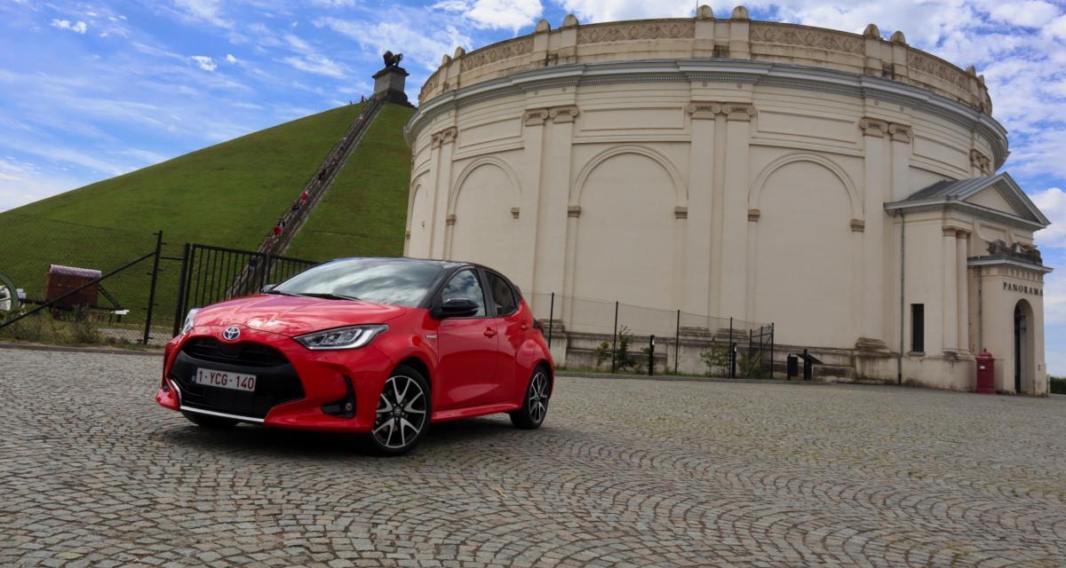 Essai Toyota Yaris : nos photos de la citadine hybride renouvelée