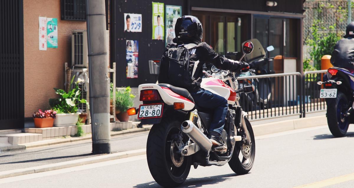 Un motard de 18 ans flashé à 217 km/h au guidon de sa Suzuki GSX-S750