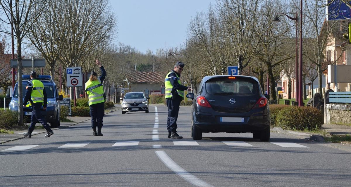 Un jeune conducteur, permis probatoire en poche, roule à 182 km/h sur une départementale