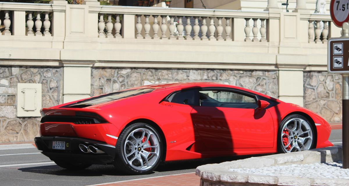 Il se paye une Lamborghini Huracan avec de l'argent public !